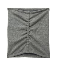 Hat Attack Jersey Cinched Neck Warmer Charcoal Scarves Gray