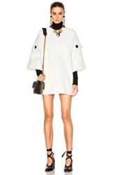 Marni Double Technical Faille Tunic In White