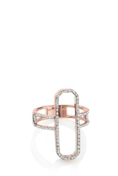 Monica Vinader Naida Cocktail Ring R Gold
