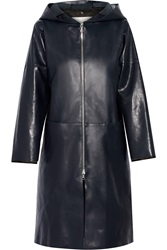 Adam By Adam Lippes Hooded Leather Coat