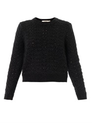 J Brand Hester Cable Knit Sweater