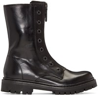Diesel Black Gold Military Combat Boots