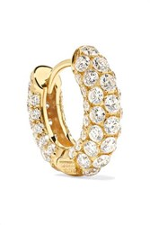 Maria Tash 6.5Mm 18 Karat Gold Diamond Earring