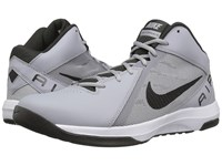 Nike The Air Overplay Ix Wolf Grey Black Deep Pewter Men's Basketball Shoes Gray