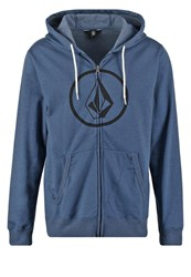 Volcom Tracksuit Top Smokey Blue Dark Blue