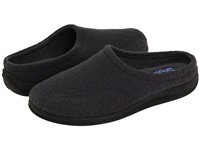 Foamtreads Tomas Grey Wool Men's Slippers Gray