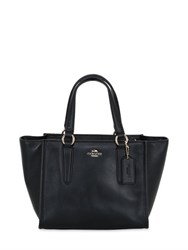Coach Ny Crosby Mini Carryall Leather Tote Bag