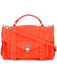 Proenza Schouler Medium 'Ps1' Satchel Yellow And Orange