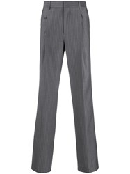 Msgm Striped Straight Leg Trousers 60
