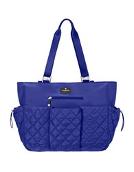 Baggallini On The Go Baby Quilted Tote Cobalt