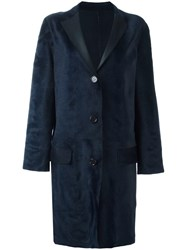 Sofie D'hoore Single Breasted Coat Blue
