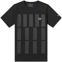 Fred Perry X Made Thought Graphic Print Tee Black