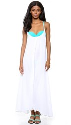 9Seed Seychelles Cover Up White