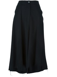 Damir Doma 'Pollock' Wide Fit Trousers Black