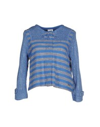 Bark Knitwear Cardigans Women Blue