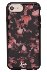 Sonix Rose Tortoise Print Iphone X Case Pink
