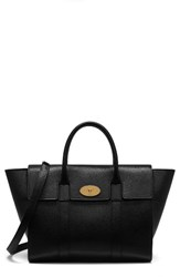 Mulberry Bayswater Grained Leather Satchel