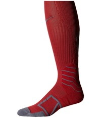 Nike Elite Baseball Sock Otc Team Crimoson Flint Grey Knee High Socks Shoes Red