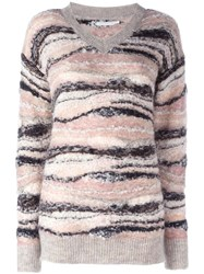 See By Chloe Knitted V Neck Jumper