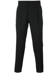 Pal Zileri Elasticated Cuff Trousers Black