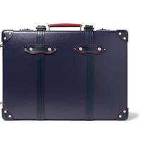 Globe Trotter St Moritz 20 Leather Trimmed Trolley Case Navy