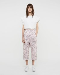 Julien David Light Tweed Cotton Pant