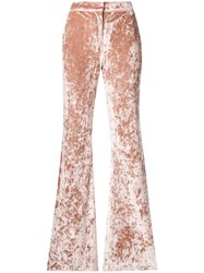 Alexis Flared Domenic Trousers Pink