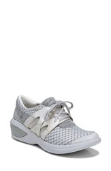 Bzees 'S Flicker Sneaker Grey Fabric