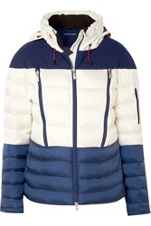 Perfect Moment Polar Quilted Down Ski Jacket Navy