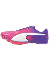 Puma Evospeed Sprint 7 Competition Running Shoes Sparkling Cosmo Electric Purple White Pink