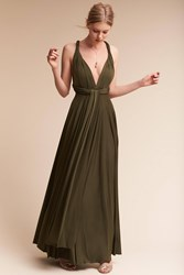 Anthropologie Ginger Convertible Maxi Wedding Guest Dress Holly