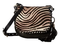 Sas Violet Black Zebra Handbags Animal Print