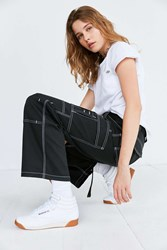 Dickies X Uo Carpenter Contrast Stitch Pant Black
