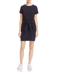 Dylan Gray Tie Front Shift Dress 100 Exclusive Navy