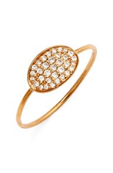 Ginette_Ny Women's Ginette Ny 'Sequin' Mini Diamond Ring