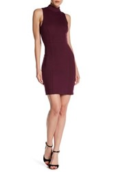 French Connection High Line Luna Ponte Sheath Dress Red