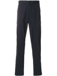 Salvatore Ferragamo Elasticated Waist Trousers Blue