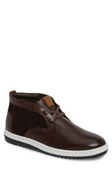 English Laundry Adderley Chukka Sneaker Brown Leather Suede