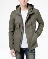 American Rag Men's Hooded Cotton Field Jacket Only At Macy's Tank
