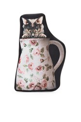 Undercover Cat In Vase Pouch