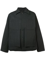 Craig Green Quilted Workwear Jacket Black
