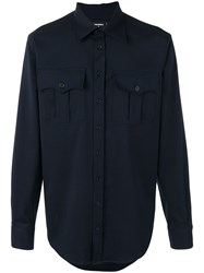 Dsquared2 Chest Pocket Shirt Black
