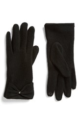 The Accessory Collective Junior Women's Accessory Collective Wool Bow Glove