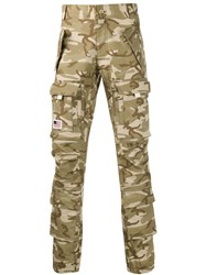 Palm Angels Camouflage Cargo Trousers 60