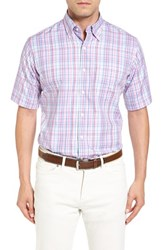 Peter Millar Men's Spring Pinwheel Regular Fit Sport Shirt