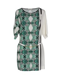 Angelo Marani Dresses Short Dresses Women Green