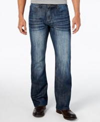 Inc International Concepts Men's Aber Modern Boot Fit Jeans Only At Macy's Dark Wash