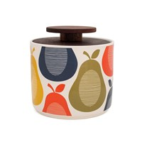 Orla Kiely Pear Storage Jar 1L