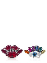 Anton Heunis Eye And Lips Stud Earrings