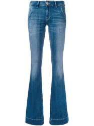 Don't Cry Jeans Women Cotton Polyester Spandex Elastane 25 Blue